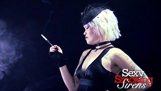 Smoking Fetish - Emily Doll Formal Cigarette Holder