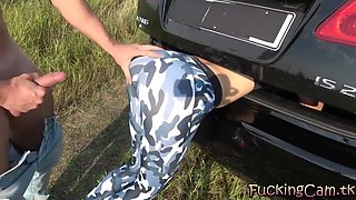 step brother grinding and cum on yoga pants sister while she stuck in trunk - fuckingcam.tk