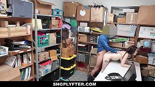 Shoplyfter- A Hard Fuck Punishment For Rebelious Teen