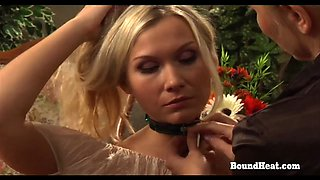 On Consignment 3 Curvy Lesbian Mistress Bounds And Brands Her Slave