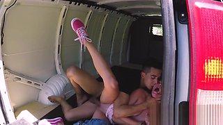 Tied Girl Abused In Van