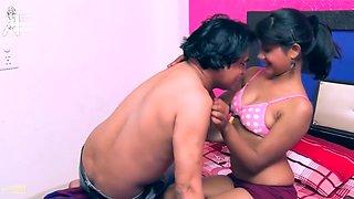 Hot desi shortfilm 128 - Boobs squeezed, press, suck & grab in pink bra