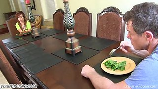 Kaylee Haze - My dad is the sislny and beautiful. I want his mighty dick