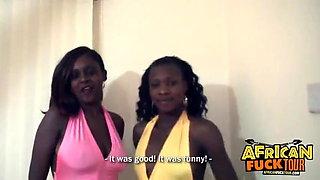Dirtydognam- interracial threesome with African lesbians