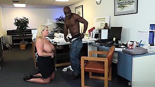 Zoey Andrews is usually banging the boss this time of day