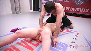 Nude wrestling juliette march owned and fucked roughly