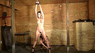 mistress tickle punishes girl