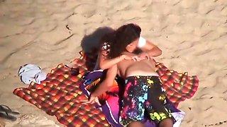 White bikini beach
