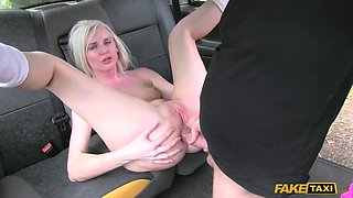 Hot blonde chooses hard fucking over gym