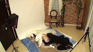 CHEATING BRIDE AT PREWEDDING STUDIO 007