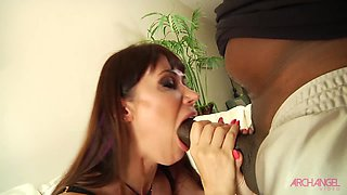 Eva Karera taking monster black cock