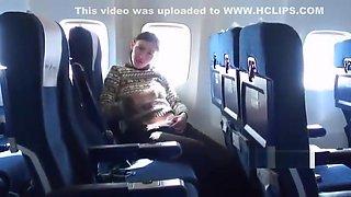 Lesbians Flashing On A Plane
