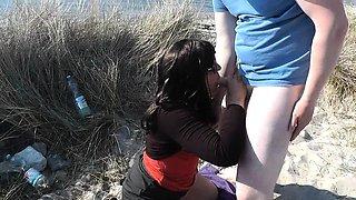 Slutwife Marion gangbang on the beach in Summer 2016