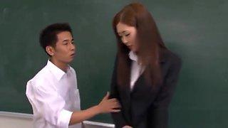 Kotone Amamiya Hot Japanese teacher part5