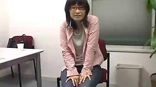 Beautiful nipple massage small milk kneading knead a poor tits student with