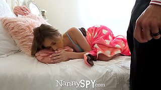 nanny anya gets fucks ans sucks to keep her job