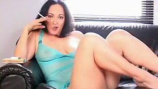 Crazy Homemade video with Brunette, Smoking scenes