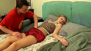 Deep Penetration Of Drunk Girl