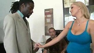 Husband share wife with BBC -JG-