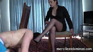 Dominated by goddess sophia strict british mistress