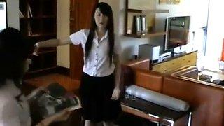 Thai girl freeze 1