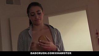 dadcrush - sexy girl brings daddy in bed