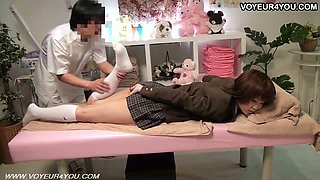 Japanese Teen School Girl Body Massage