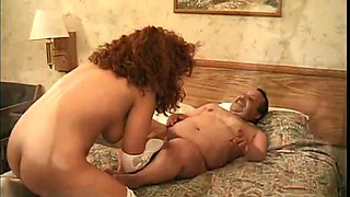 Kinky Mexican midget doggy fucks busty Latina MILF hard