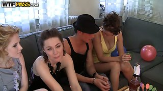 Bridal shower with hot college sluts 2