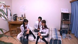 Amazing Japanese whore Yumemi Nakagawa, Yuno Shirasuna, Nozomi Aiuchi in Crazy Couple, Small Tits JAV movie