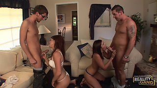 Swinger Fun With the Hot Babes Stephanie Richards & Shayne Ryder