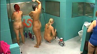 German Big Brother 3 Girl Shower Scene