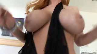 Curvy Blonde Sophie Dee Is Thirsty For Lex Steele's BBC!