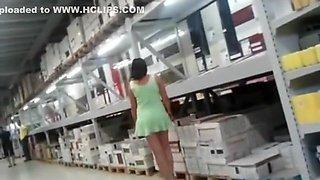 Horny Homemade video with Upskirt, Voyeur scenes