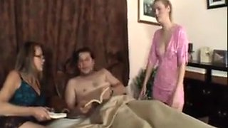 Daughter Walks In And Fucks Daddy !
