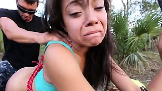 Cute brunette girlfriend blows lovestick gets ready for fuck