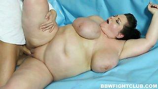 BBW wrestling with sex