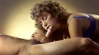 Fabulous facial classic video with Joey Silvera and Little Oral Annie
