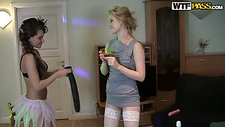 Bridal shower with hot college sluts 4. Part 2