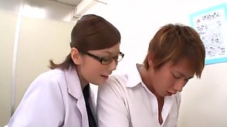 Exotic Japanese chick in Hottest Medical, Big Tits JAV video