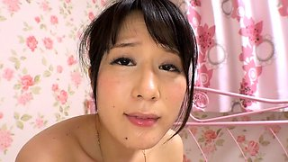 Petite Japanese cutie enjoying hard meat and rough sex