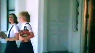 Teenage cutie blows her teacher's hard dick after classes