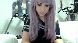 Amazing amateur Webcam, Emo adult clip