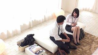 FHD 橘花音 - 一般男女モニタリングAV 心優しい巨乳の女先輩と社会人 童貞の新入社員[DVDES-877