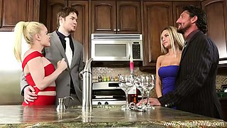 blonde swinger cheating wife