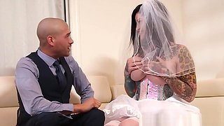 Busty Emo Bride Railed