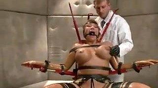 Redslave being punished