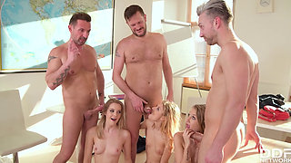 Teens Pounded By Their Teachers