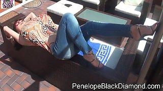 Black Diamond And Penelope Black Diamond - Pbd Footjob Blowjob Milk Dusche 23.7