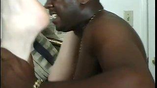 Cheating Whore Rides A Massive Black Rod